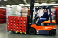 Niemcy praca na magazynie operator wózka widłowego z UDT Stuttgart