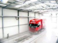 Fizyczna praca w Szwecji bez języka – myjnia ręczna samochodów ciężarowych, Sztokholm