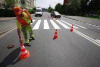Bruksela praca Belgia od zaraz pracownik drogowy (malowanie znaków poziomych)