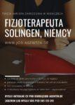 Fizjoterapeuta – oferta pracy w Niemczech, Solingen