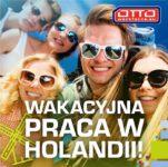 Wakacyjna praca w Holandii od zaraz także dla studentów na magazynie