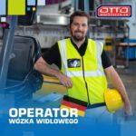 Operator wózka widłowego Niemcy praca od zaraz na magazynie Lipsk
