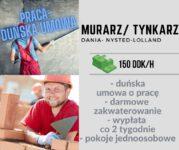 Oferta pracy w Danii na budowie od zaraz Murarz-Tynkarz w Nysted-Lolland